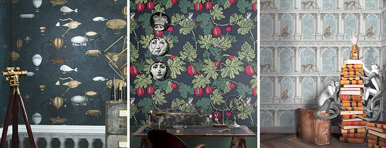 Cole & Son Fornasetti III Wallpaper Collection