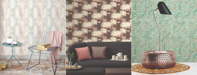 The Paper Partnership Gingko by Elizabeth Ockford Wallpaper Collection