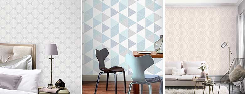 Arthouse VIP Geometrics Wallpaper Collection