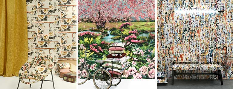 Jean Paul Gaultier Voyages, Voyages Wallpaper Collection
