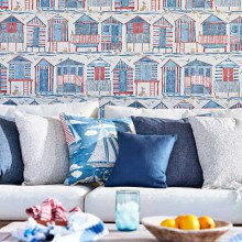 Sanderson Home Port Isaac Wallpaper Collection