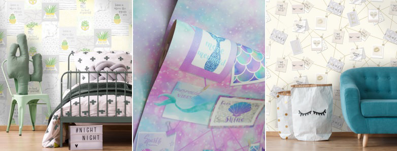 Holden Decor Dream More Wallpaper Collection