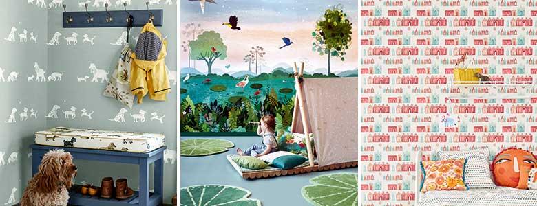 Villa Nova Picturebook Wallpaper Collection