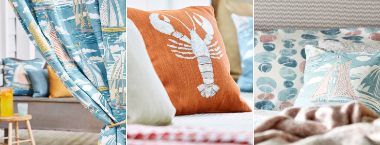 Sanderson Home Port Isaac Fabric Collection