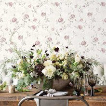 Galerie Vintage Roses Wallpaper Collection