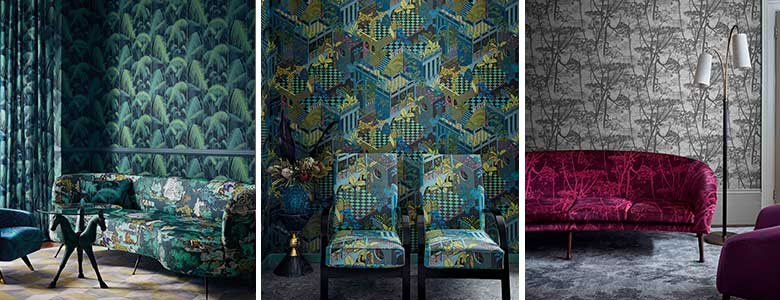Cole & Son Icons Fabric Collection