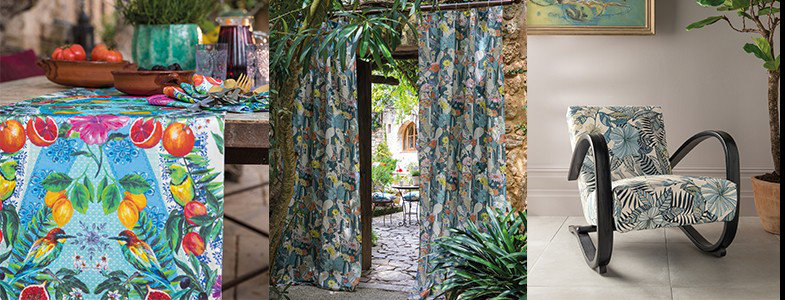 Matthew Williamson Deya Fabric Collection