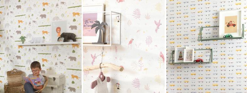 Casadeco Happy Dreams Wallpaper Collection