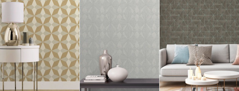 Albany Geometric Wallpaper Collection