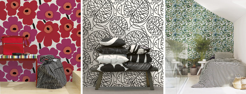 Marimekko 5 Wallpaper Collection