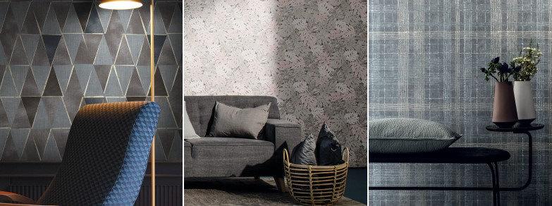galerie wallpaper stripes and damasks
