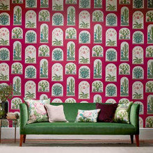 Sanderson The Glasshouse Wallpaper Collection