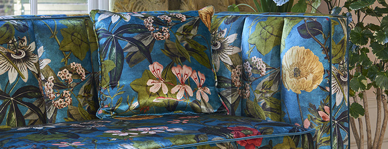 Clarke & Clarke Exotica Fabric Collection
