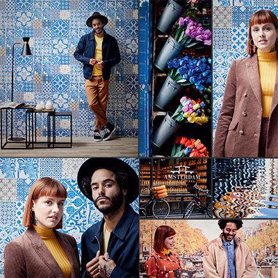 Metropolitan Stories Amsterdam - Anki & Daan Wallpaper Collection