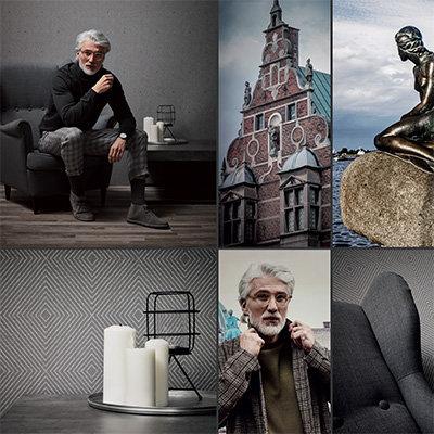 Metropolitan Stories Copenhagen - Nils Olsson Wallpaper Collection