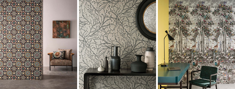 Osborne & Little Folium Wallpaper Collection