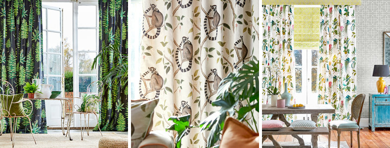 Sanderson The Glasshouse Fabric Collection