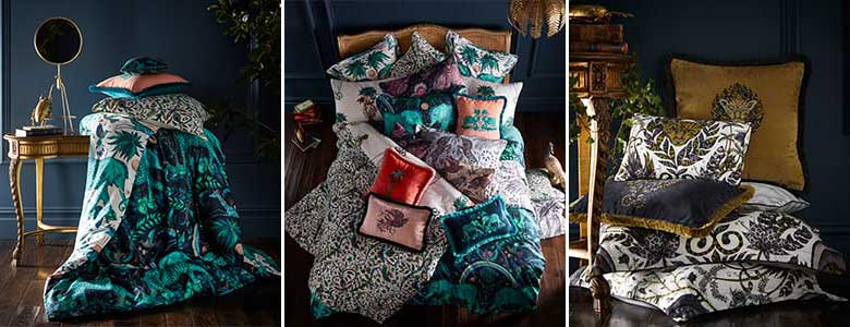 Clarke & Clarke Animalia Bedding by Emma J Shipley Collection