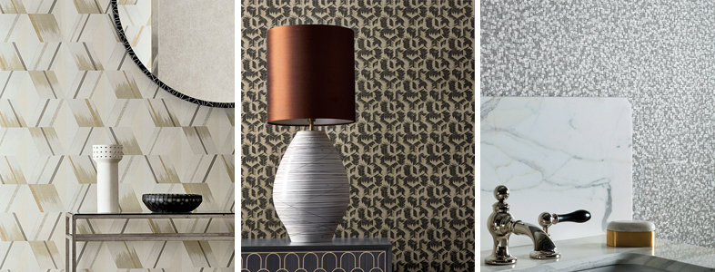 Zoffany Rhombi Wallpaper Collection