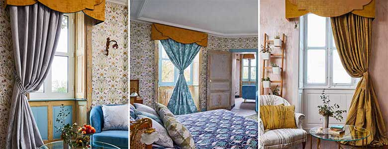 The Chateau by Angel Strawbridge Ready Made Curtains Collection