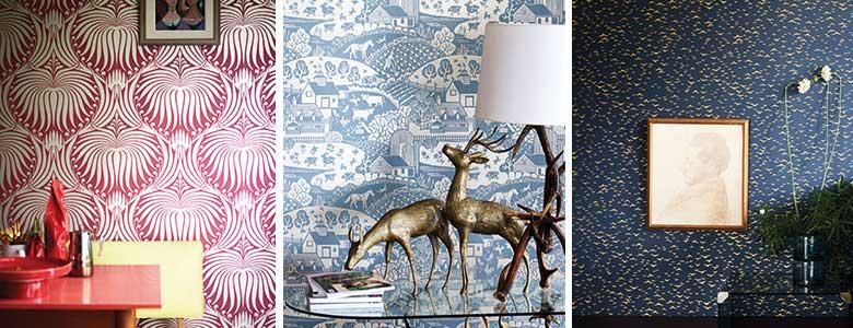 Farrow & Ball Metallic Wallpaper Collection