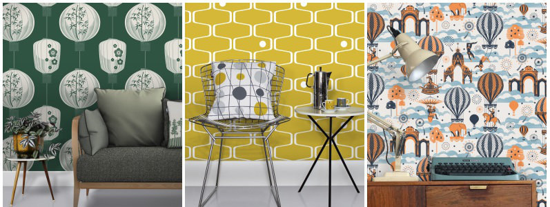 Mini Moderns Culture! Wallpaper Collection