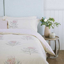 Sanderson Protea Flower Bedding Collection