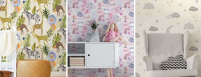 Grandeco Little Ones Wallpaper Collection