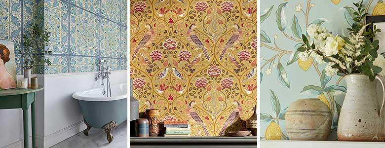 Morris Melsetter Wallpaper Collection