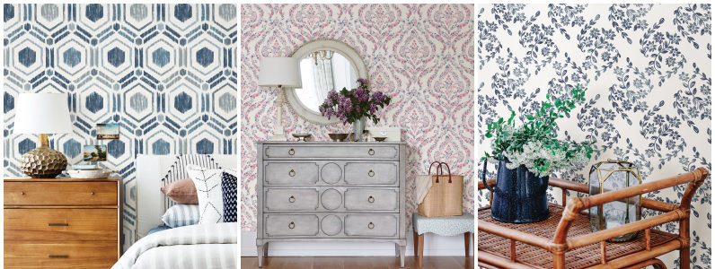 A Street Prints Perennial Wallpaper Collection