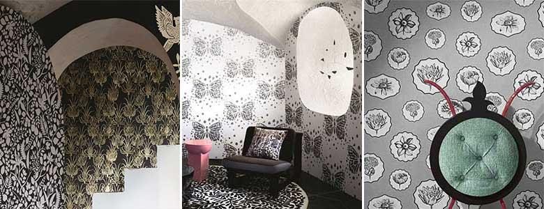 Christian Lacroix Paradis Barbares Wallpaper Collection