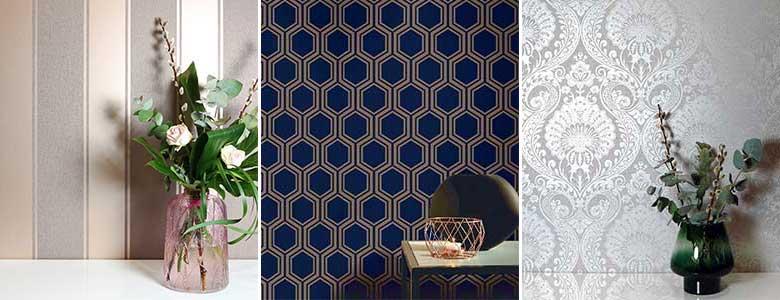 Arthouse Textured Metallics Wallpaper Collection