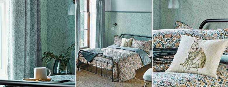 Morris Little Chintz Bedding Collection