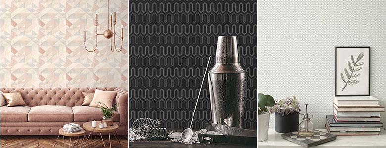 Galerie Geometrix Wallpaper Collection