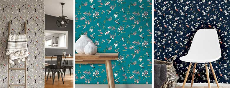 Lorna Syson RSPB Wallpaper Collection