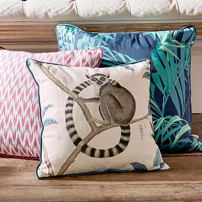Sanderson The Glasshouse Cushion Collection