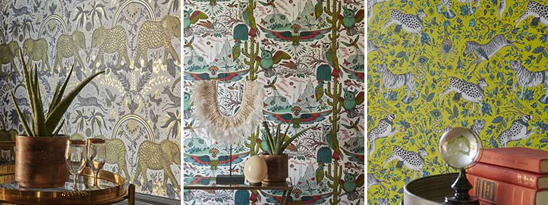Wilderie Wallpaper by Emma J Shipley Collection