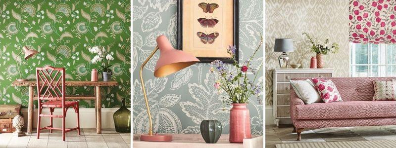 Sanderson Caspian Wallpaper Collection
