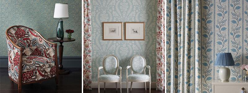 Nina Campbell Ashdown Fabric Collection
