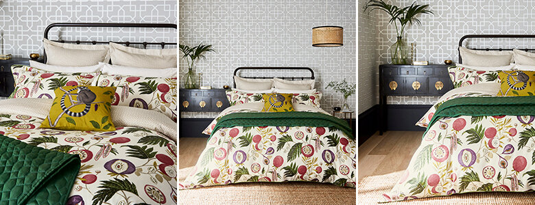 Sanderson Jackfruit Bedding Collection