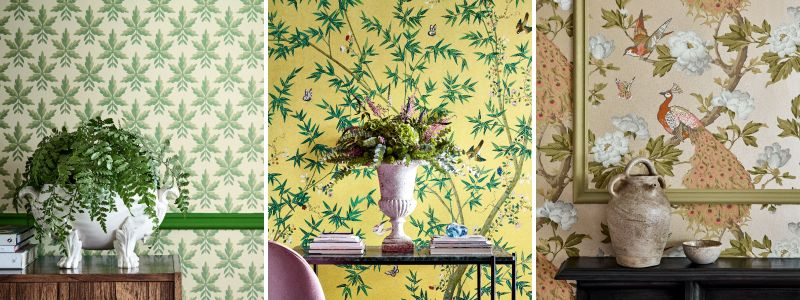 Little Greene National Trust Wallpaper Collection