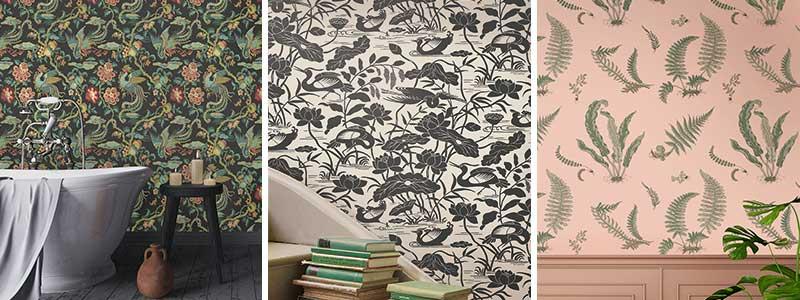G P & J Baker Signature II Wallpaper Collection