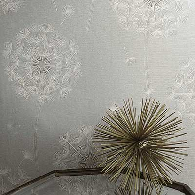 Crystal Taupe Silver Glitter Heavyweight Textured Paste the Wall Wallpaper