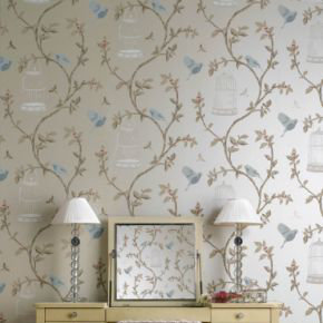 Nina Campbell Birdcage Walk  Wallpaper Collection