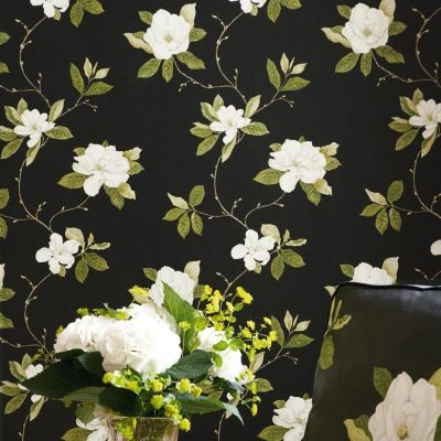 Sanderson Parchment Flowers Wallpaper Collection