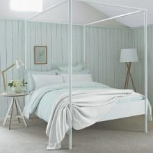 Sanderson Tiger Stripe Aqua Bedding Collection