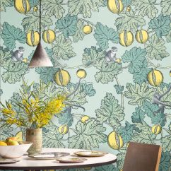 Cole & Son Frutto Proibito Aqua Wallpaper