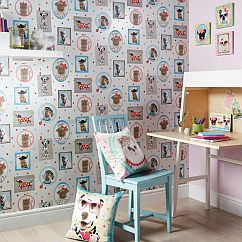 Arthouse Hall of Fame Pink Wallpaper