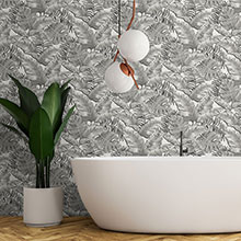 bathroom wallpapers wallpaper direct rh wallpaperdirect com black and white wallpaper ideas for living room black and white striped wallpaper for bathroom