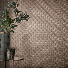 Arthouse Foil Honeycomb Silver Wallpaper